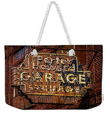Weekender Tote Bag featuring the photograph Trust In Rust by Linda Unger