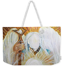 Trust - Michaelarchangel Series Weekender Tote Bag
