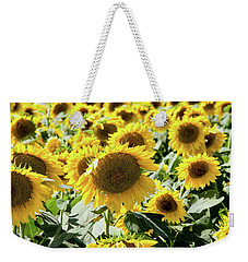 Weekender Tote Bag featuring the photograph Trying To Feel Unique by Greg Fortier