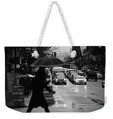 Weekender Tote Bag featuring the photograph Trying To Stand Out  by Empty Wall