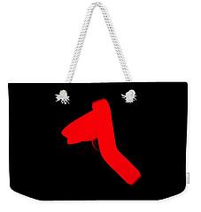 Weekender Tote Bag featuring the digital art Tshirt 2 by David Lane