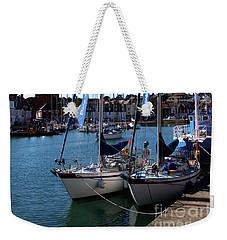 T.s.vigilant And T.s. City Liveryman  Weekender Tote Bag by Stephen Melia