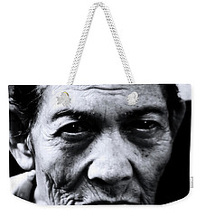 Weekender Tote Bag featuring the photograph Tubo Worn by Jez C Self