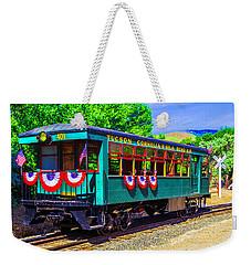 Tucson Cornelia And Gila Bend R R Train Car Weekender Tote Bag