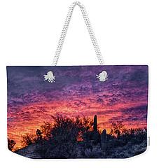 Tucson Sunrise Weekender Tote Bag