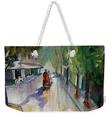 Tudo Street, Saigon 9 Weekender Tote Bag by Tom Simmons