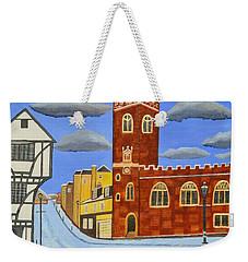 Tudor House In Exeter  Weekender Tote Bag
