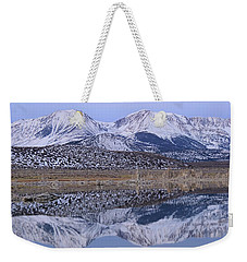 Tufa Dawn Winter Dreamscape Weekender Tote Bag