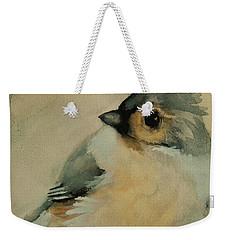 Tufted Titmouse Weekender Tote Bag