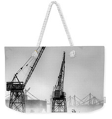 Tug With Cranes Weekender Tote Bag