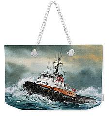 Tugboat Hunter Crowley Weekender Tote Bag