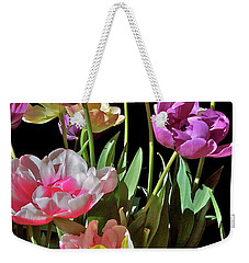 Weekender Tote Bag featuring the photograph Tulip 8 by Pamela Cooper