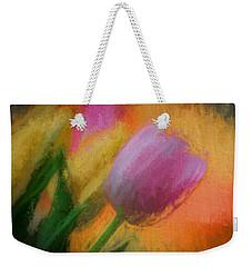 Tulip Abstraction Weekender Tote Bag