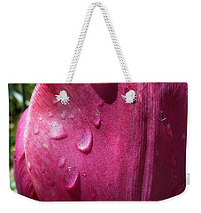 Tulip After The Rain Weekender Tote Bag by Jean Bernard Roussilhe