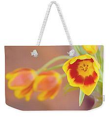 Tulip Beauty Weekender Tote Bag by Deborah  Crew-Johnson