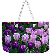 Tulip Blush Weekender Tote Bag