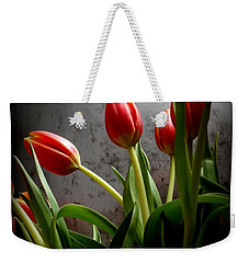 Weekender Tote Bag featuring the photograph Tulip Bouquet 2 by Mary-Lee Sanders