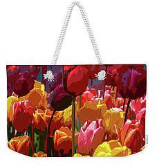 Tulip Confusion Weekender Tote Bag