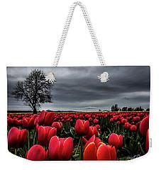 Tulip Fields Weekender Tote Bag