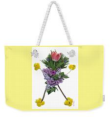Tulip Head Weekender Tote Bag by Lise Winne