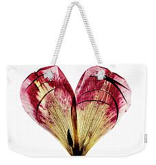 Tulip Heart Weekender Tote Bag