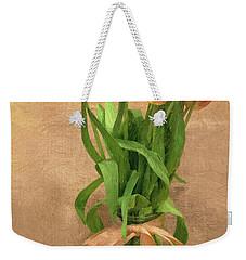 Tulip Impasto Weekender Tote Bag