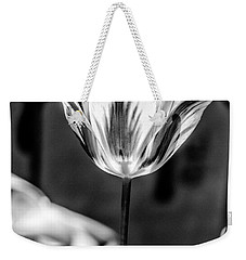 Tulip In B And W Weekender Tote Bag