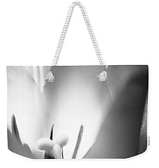 Tulip In Black And White Weekender Tote Bag