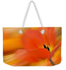 Tulip In Motion Weekender Tote Bag