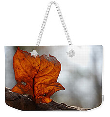 Tulip Leaf  Weekender Tote Bag by Jane Ford