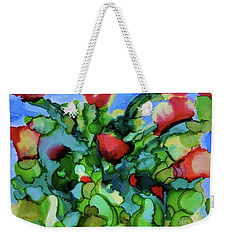 Tulip Poppy Weekender Tote Bag