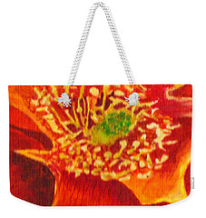 Tulip Prickly Pear Weekender Tote Bag