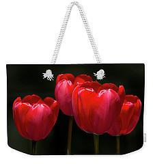 Tulip Quartet Weekender Tote Bag by Michael Friedman