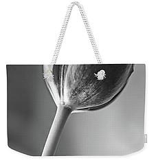 Tulip Shadow And Light Weekender Tote Bag by Marius Sipa
