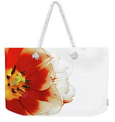 Tulip Statement Weekender Tote Bag by Afrodita Ellerman