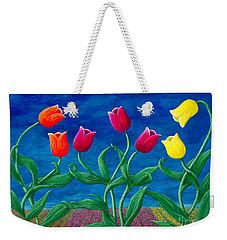 Tulip Tango Weekender Tote Bag