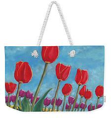 Tulip View Weekender Tote Bag
