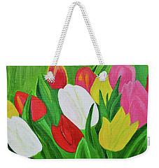 Tulips 2 Weekender Tote Bag by Magdalena Frohnsdorff