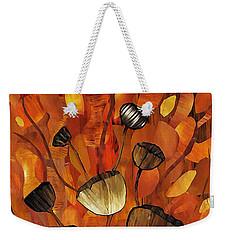 Tulips And Violins Weekender Tote Bag by Sarah Loft