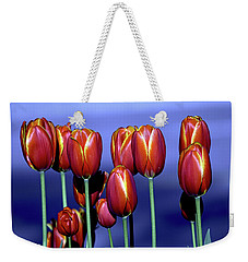 Tulips At Attention Weekender Tote Bag