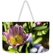 Tulips At The End Weekender Tote Bag