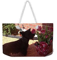 Tulips Weekender Tote Bag by Diane Ferguson