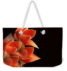 Tulips Dramatic Orange Montage Weekender Tote Bag