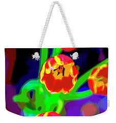 Tulips In Abstract Weekender Tote Bag