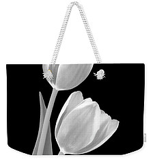 Tulips In Black And White Weekender Tote Bag