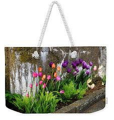 Tulips In Ruin Weekender Tote Bag