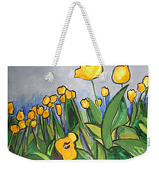 Tulips In Springtime Weekender Tote Bag