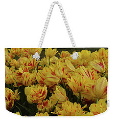 Tulips In The Garden Tulips In The Park  Weekender Tote Bag