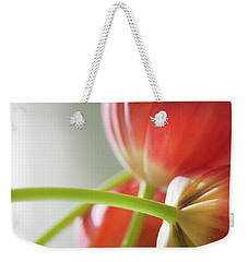 Tulips In The Morning Weekender Tote Bag by Theresa Tahara