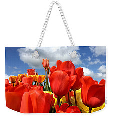 Tulips In The Sky Weekender Tote Bag